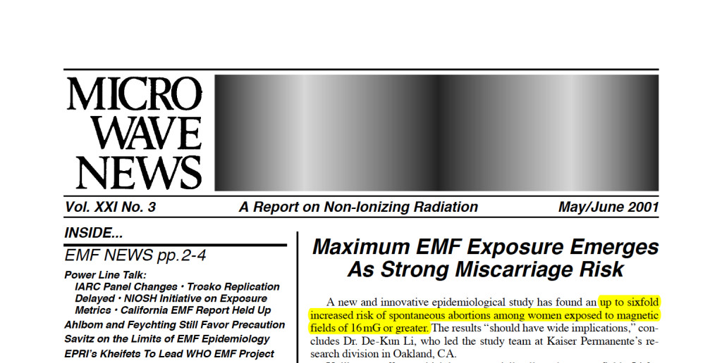 Research & Reports - EMF Expert | Windheim EMF Solutions